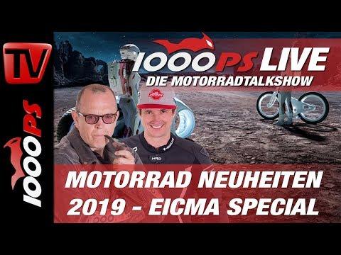 EICMA 2018 - Motorrad Neuheiten 2019 - 200PS Nakedbikes, 220PS Superbike und mächtige Enduros