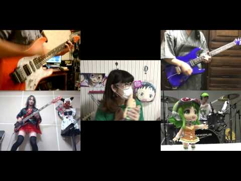 [HD]Gatchaman Crowds Insight OP [Insight] Band cover