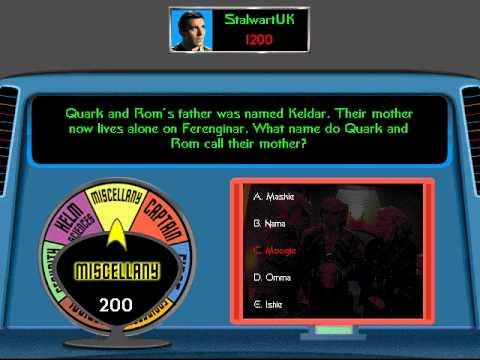 Star Trek: The Game Show Gameplay