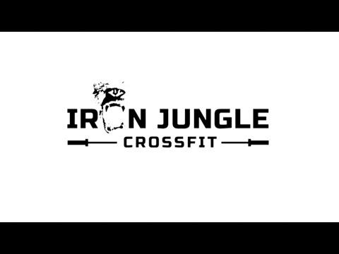 Iron Jungle Cross Fit Squat Workout