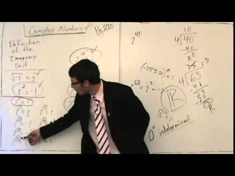 Complex Numbers 59