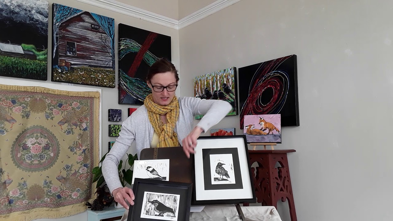 Artist Corner Episode #2: James Lightle Linocut Prints