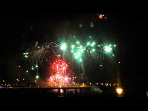Brown's Island Richmond Virginia Fireworks Display 2012 (Full Display)