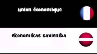 TRADUCTION EN 20 LANGUES = union économique