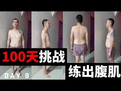 【100天挑戰練出腹肌】十分鐘腹肌训练 TABATA ABS WORKOUT 30/11/2019