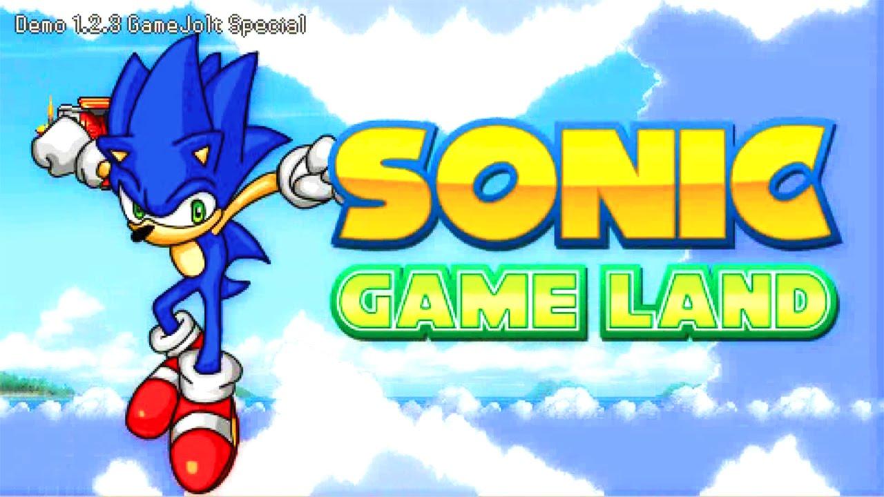 Sonic Game Land - Demo v1 2 3 (Sage 2014 Act 2)