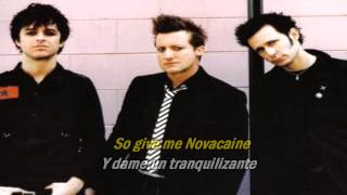 Green Day - Give Me Novacaine (Subtitulado Español E Ingles)