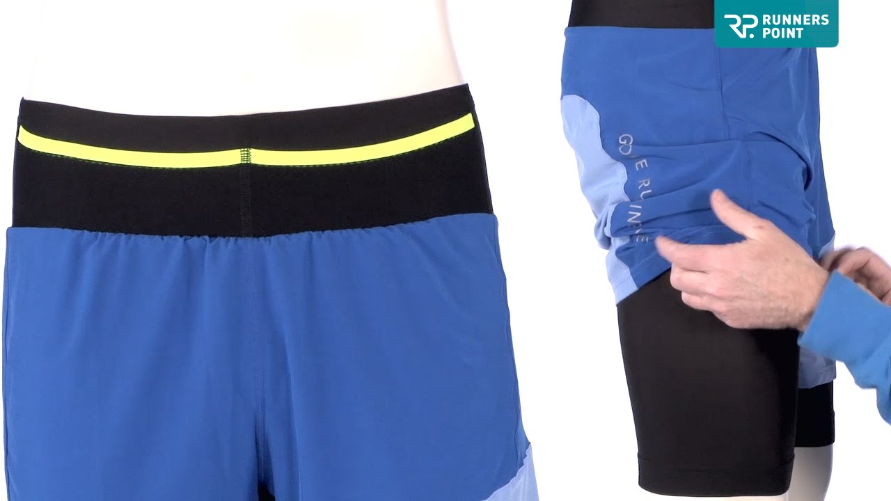 GORE RUNNING WEAR FUSION 2-IN-1 SHORTS - YouTube 45e9d8a7fc6