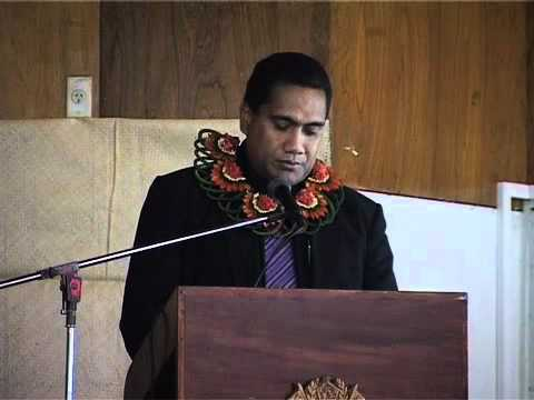 Launching of  Tonga's Information Policy