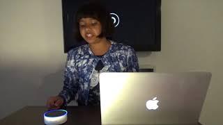 Amazon Echo Dot India Alexa skill demo