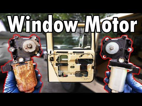 How to Replace a Window Regulator Motor (DIY)