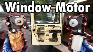 homepage tile video photo for How to Replace a Window Regulator Motor (DIY)