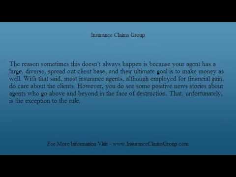 Hurricane Damage and Filing Insurance Claims