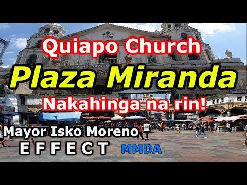 Plaza Miranda, Quiapo Church! Maayos na.! Manila Update 2019. Philippines. Travel Vlog.