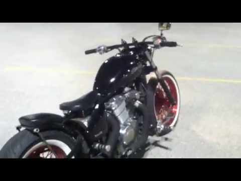 honda vlx 600 shadow bobber front end review video youtube. Black Bedroom Furniture Sets. Home Design Ideas