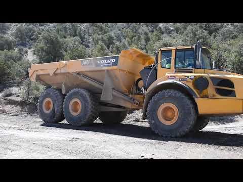 沃尔沃A40G 40吨铰接式岩石加宽车160号