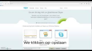 Installatie van Skype