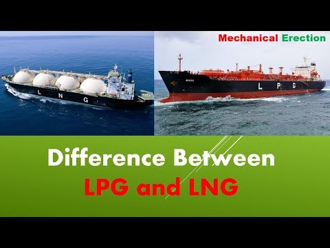 Difference Between LPG and LNG