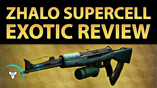 Destiny Taken King: Zhalo Supercell Exotic Review