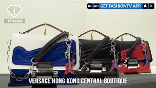 Presenting Versace Hong Kong Central Boutique Past and Future   FashionTV   FTV