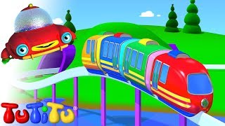 TuTiTu (ТуТиТу) Игрушки | Электрический поезд