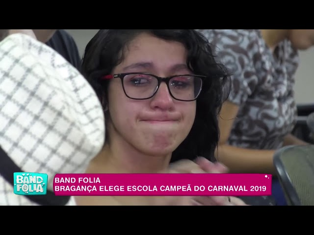 Band Folia: Bragança elege escola campeã do carnaval 2019