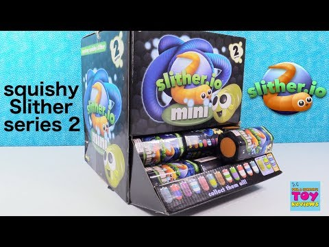 Series 2 Slitherio Mystery Squishy Slither Full Box Opening Toy Review | PSToyReviews