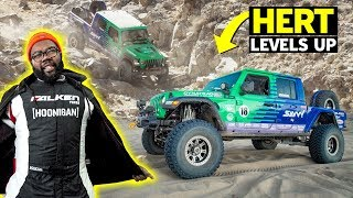 homepage tile video photo for Off-road Brutality: Hert Conquers King of the Hammers with Justin Pawlak - Will Their Jeep Survive?