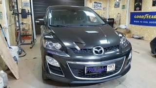 Mazda CX-7. Решаем проблему плохого света и отсутствия ДХО.