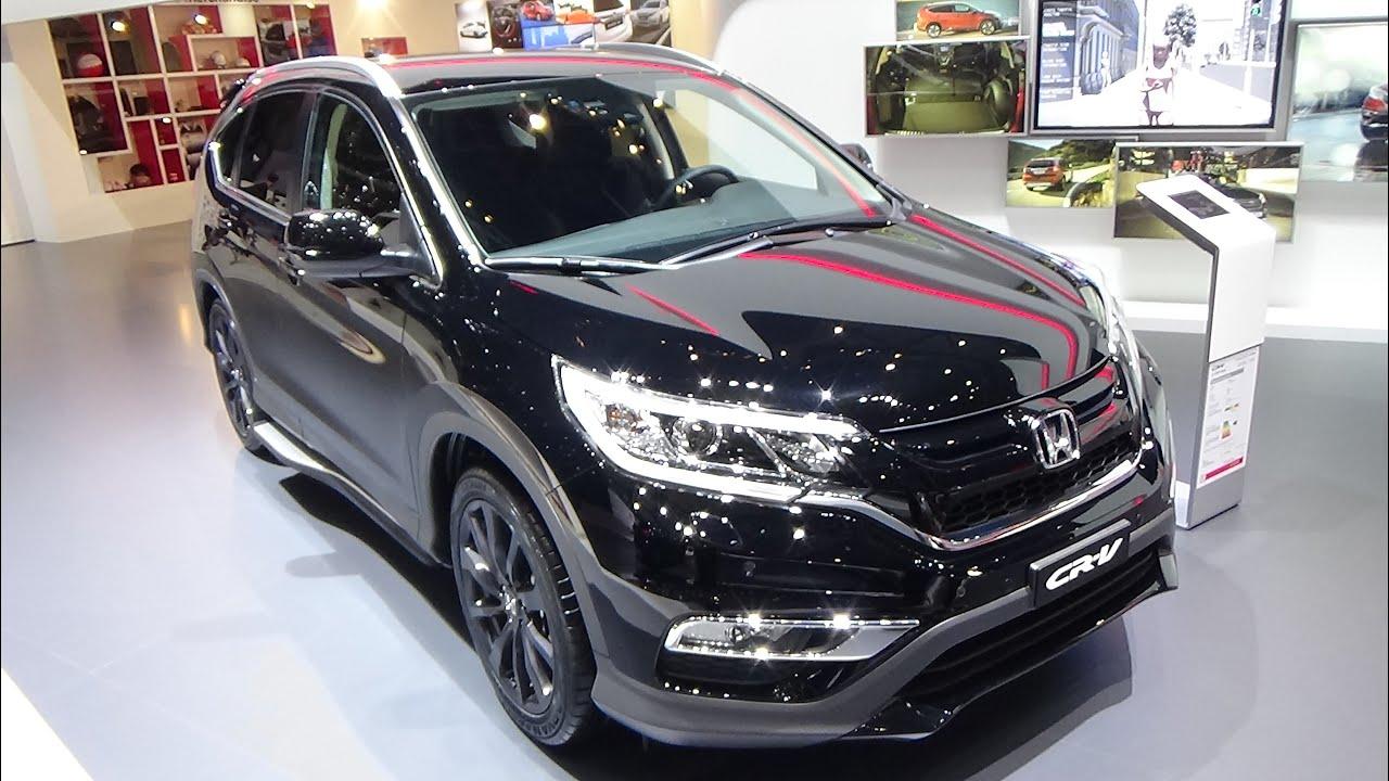 2016  Honda CRV Black Edition  Exterior and Interior  Geneva
