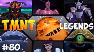 Черепашки-Ниндзя: Легенды. Прохождение #80 ALL Bosses (TMNT Legends IOS Gameplay 2016