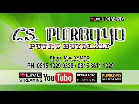 LIVE STREAMING // CS. PURBOYO ( Putro Boyolali ) // LIVE TOMANG  ( Season 1 )