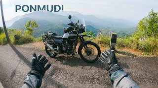 This Place is STUNNING  Ride to Ponmudi  Himalayan BS6