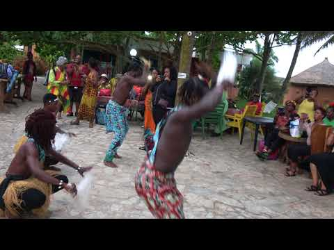 Full Entertainment with Drumming & Dancing at One Africa Resort - Ghana Tour Nov 2017