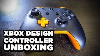 Xbox Design lab Custom Controller Unboxing