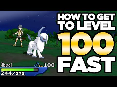 How To Get to Level 100! Level Up Fast Guide for Pokemon Ultra Sun and Moon | Austin John Plays