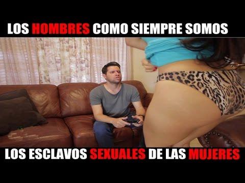 Los hombres como siempre los esclavos sexuales de las mujeres