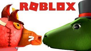 LEGOSAURUS vs. Evilsaurus!! - ROBLOX