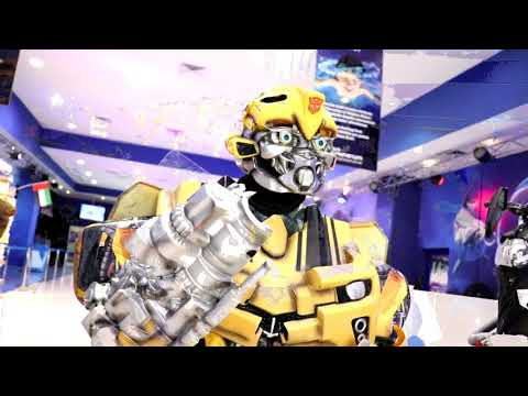 Transformers Mascots live at Dubai Dolphinarium this Eid