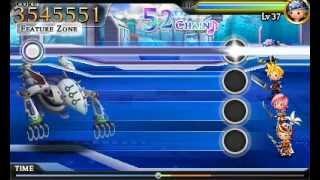 Theatrhythm Final Fantasy Demo 2 - Final Fantasy VIII The Man with the Machine Gun