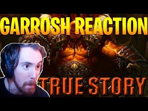 "Asmongold Reacts to ""The True Story of Garrosh Hellscream"" by Nixxiom - World of Warcraft"