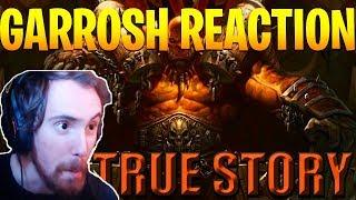 Asmongold Reacts To The True Story Of Garrosh Hellscream By Nixxiom   World Of Warcraft