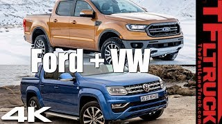 Breaking News: Ford and VW Partner to Build Next Generation of VW Amorok Based on the Ford Ranger!