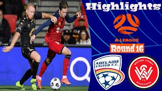 Adelaide United vs Western Sydney Wanderers Highlights All Goals Hyundai A-League 10.04.2021