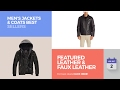 Featured Leather & Faux Leather Men's Jackets & Coats Best Sellers