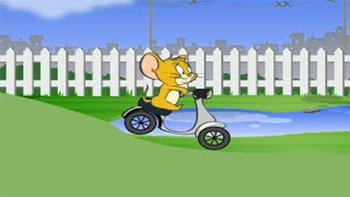 littlekidstv tom and jerry backyard ride tom and jerry game for kids