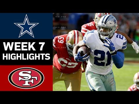 Download Youtube: Cowboys vs. 49ers | NFL Week 7 Game Highlights