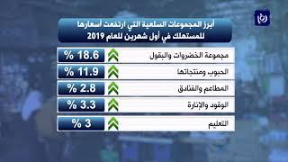 ارتفاع التضخم 1.1% خلال أول شهرين من العام الحالي - (11-3-2019)