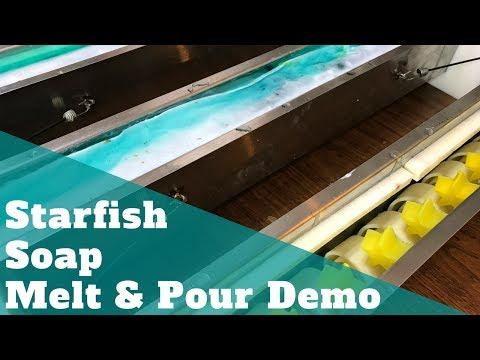 Starfish Soap Melt & Pour Demo | Summer Short Series
