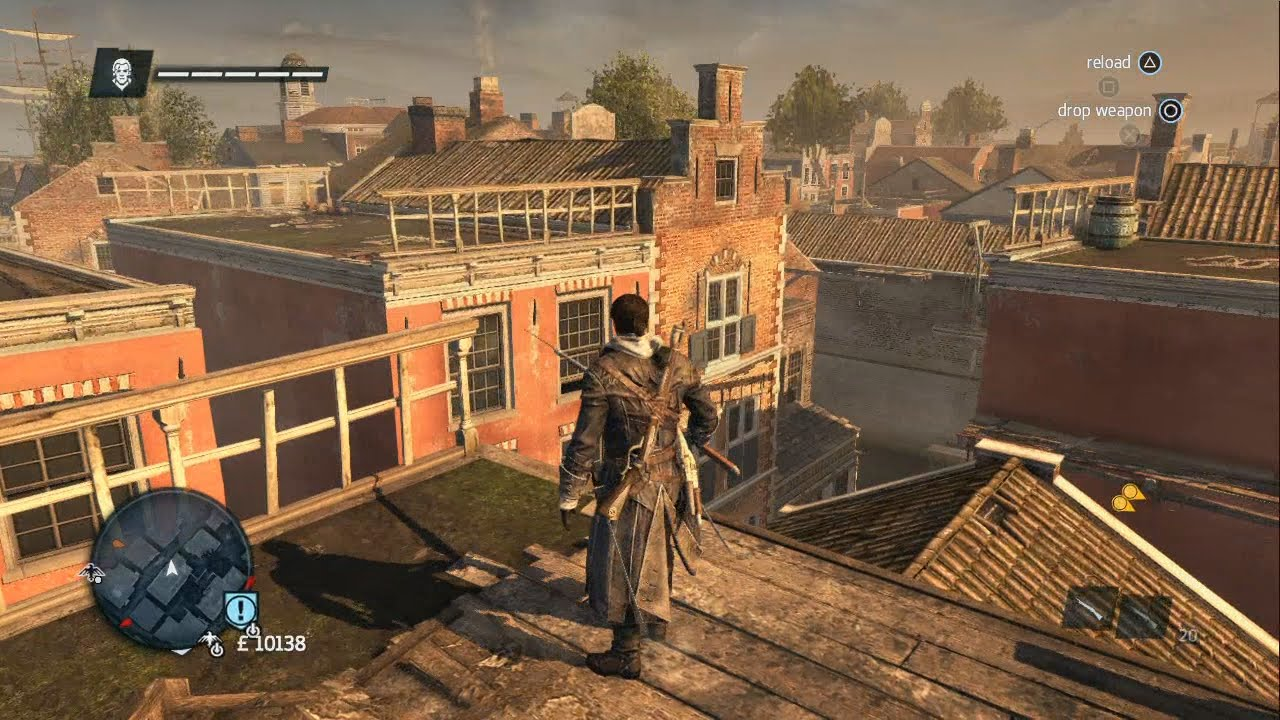 Assassin S Creed Rogue New York Free Roam Gameplay 1 Youtube